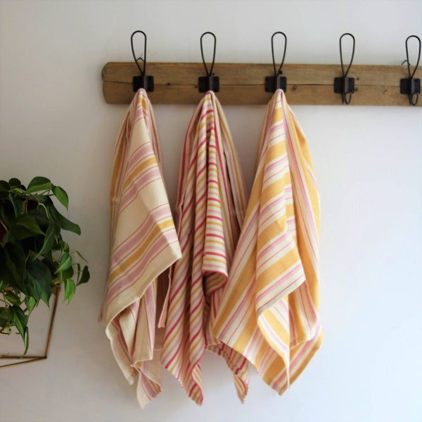 Anatoli Co BOHO MUSTARD Kitchen or Hand towel Turkish Towels Anatoli Co