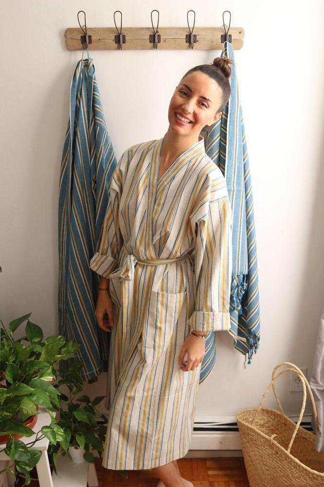 Anatoli Co ELIO Handwoven Robe Robe Anatoli Co