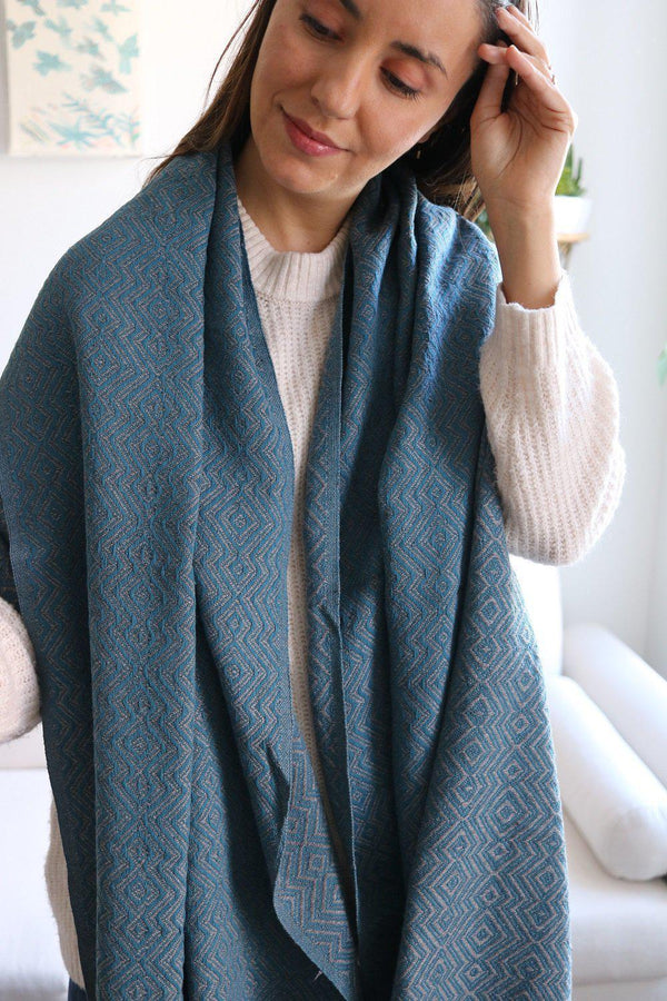 AnatoliCo Karia Handwoven Cotton Throw Home Goods Anatoli Co