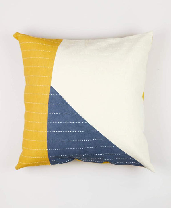"Anchal 18"" Color Block Asha Pillow Anchal Project"