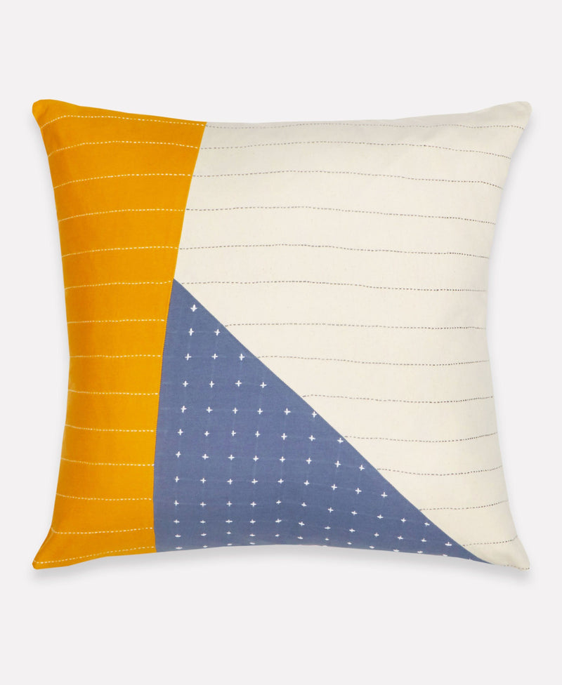 Anchal Asha Colorblock Throw Pillow Anchal Project