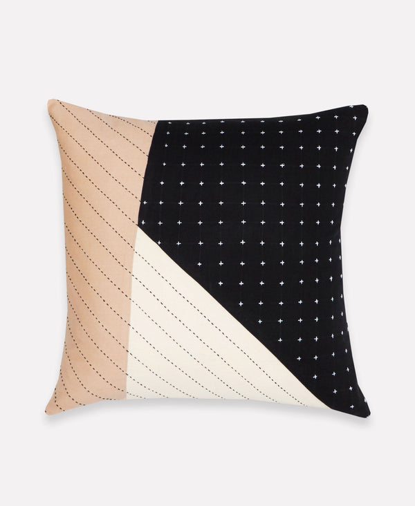 Anchal Medium Saral Colorblock Throw Pillow Anchal Project