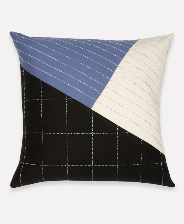 Anchal Naari Colorblock Throw Pillow Anchal Project