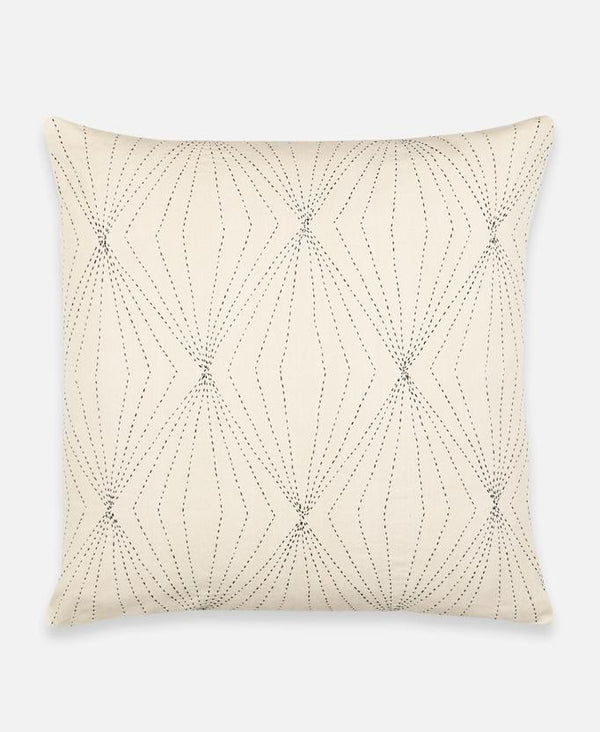 Anchal Prism Throw Pillow - Bone Anchal Project