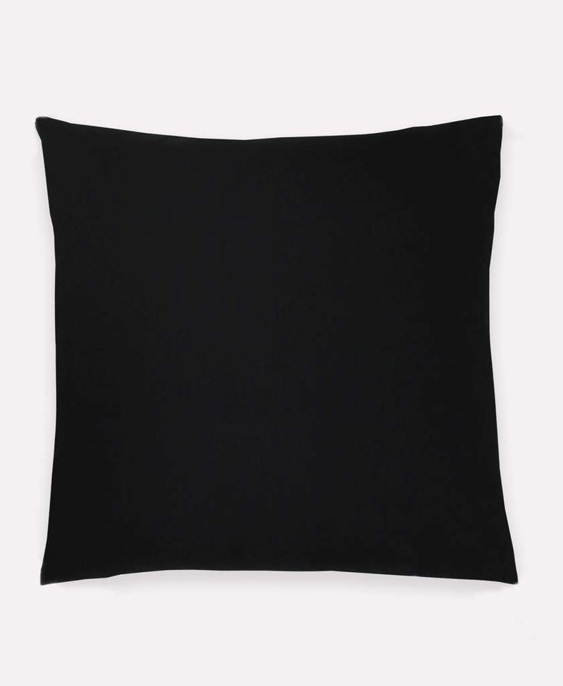 "Anchal Project 22"" Charcoal Grid Stitch Toss Pillow Anchal Project"
