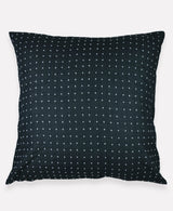 "Anchal Project 26"" Charcoal Cross-Stitch Embroidered Euro Sham Anchal Project Pillow Cover -5010486951999"