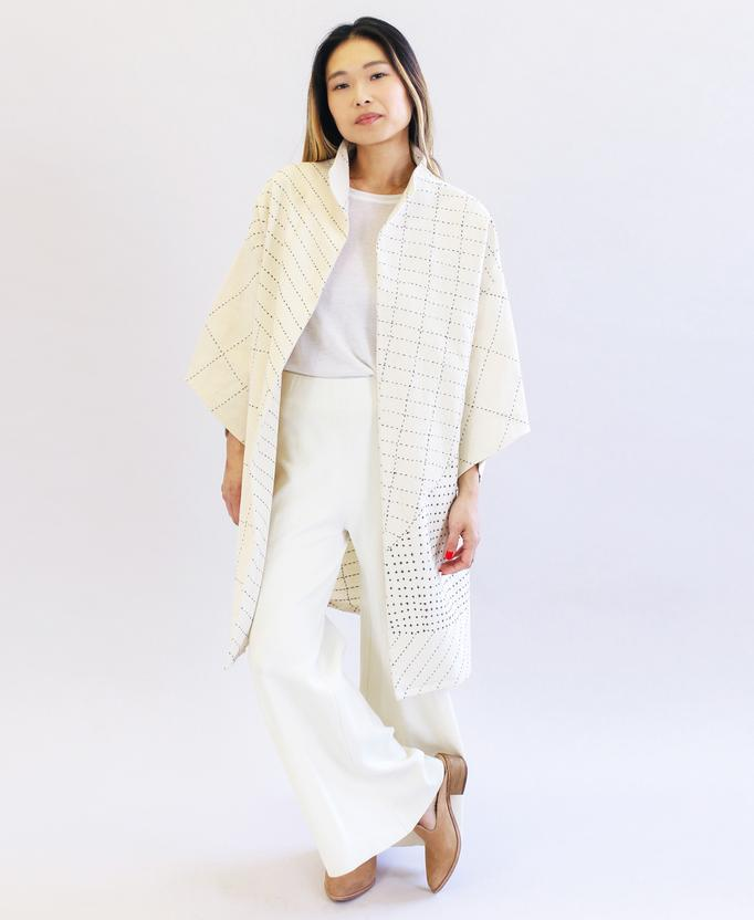 Anchal Project Cocoon Jacket - Bone Anchal Project