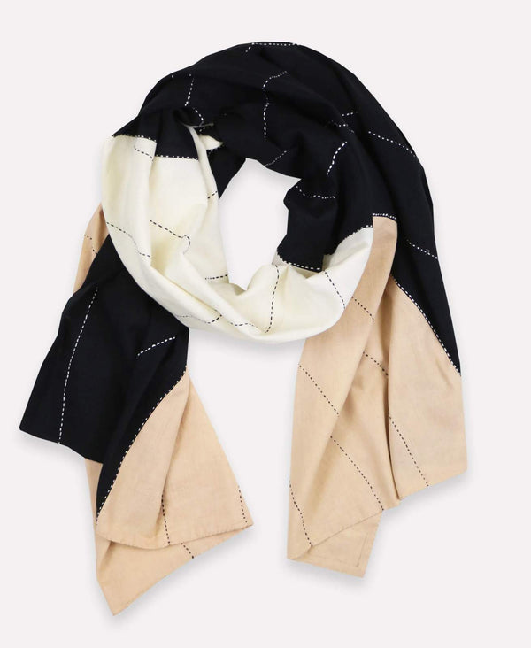 Anchal Project Eclipse Colorblock Scarf Accessories Anchal Project