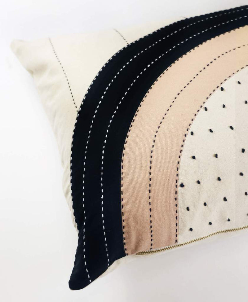 Anchal Project Eclipse Dot Lumbar Pillow Anchal Project