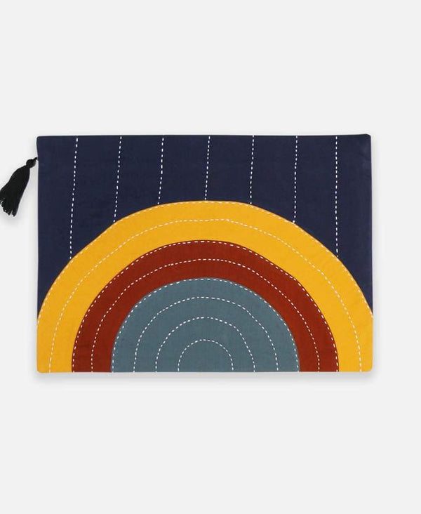 Anchal Project Eclipse Oversized Pouch Clutch - Rainbow Anchal Project