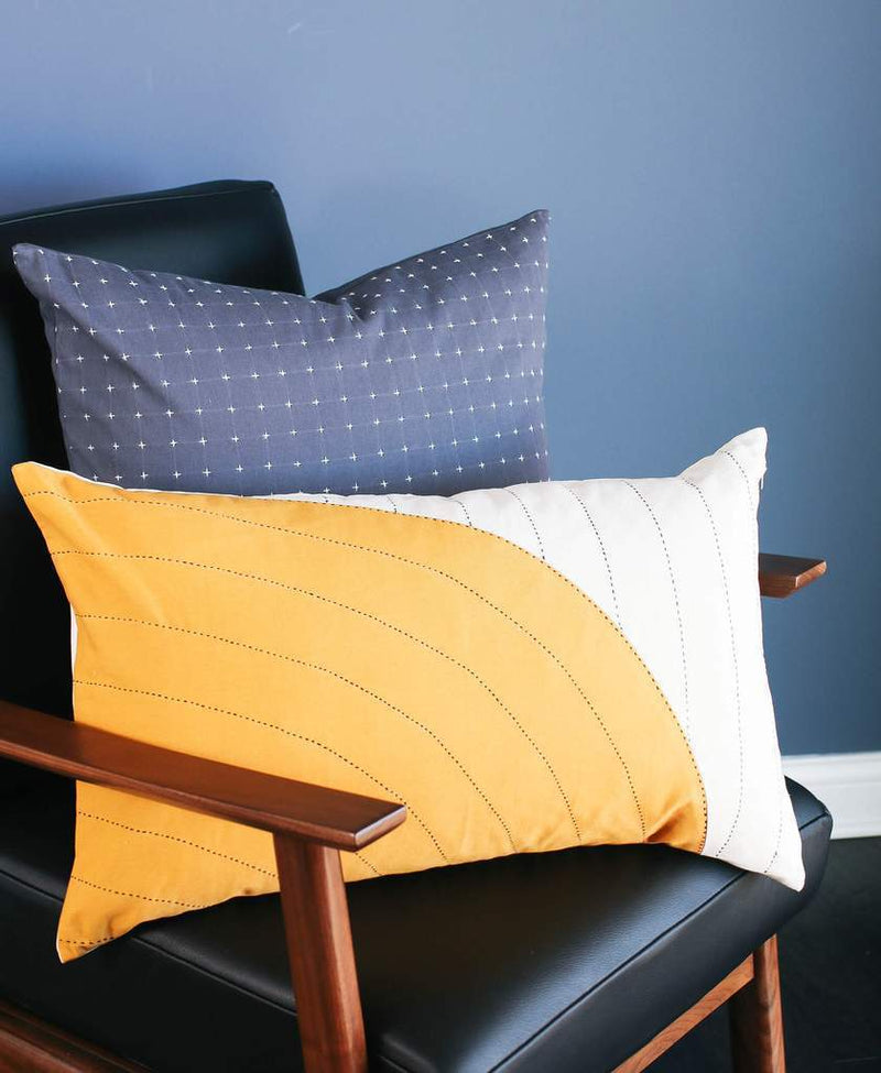 Anchal Project Gold Curve Lumbar Pillow Anchal Project