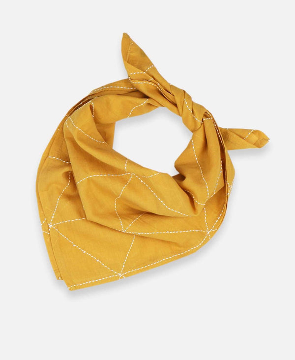 Anchal Project Graph Bandana - Mustard Accessories Anchal Project