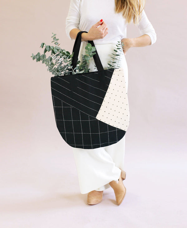 Anchal Project Hand Stitched Naari Canvas Tote Anchal Project