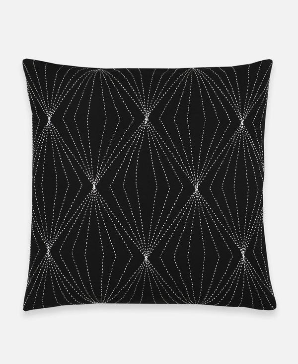 Anchal Project Prism Throw Pillow - Charcoal Anchal Project
