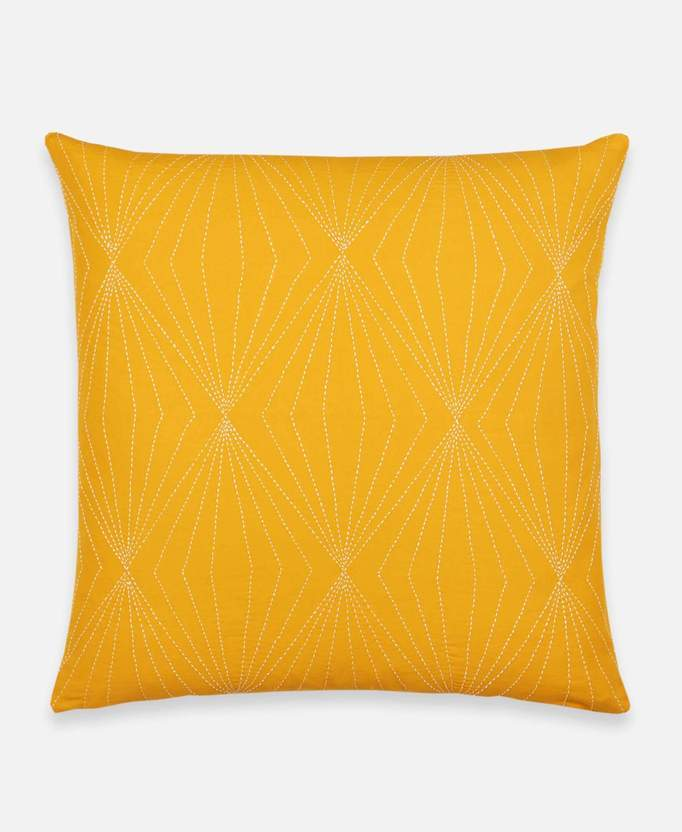 Anchal Project Prism Throw Pillow - Mustard Anchal Project