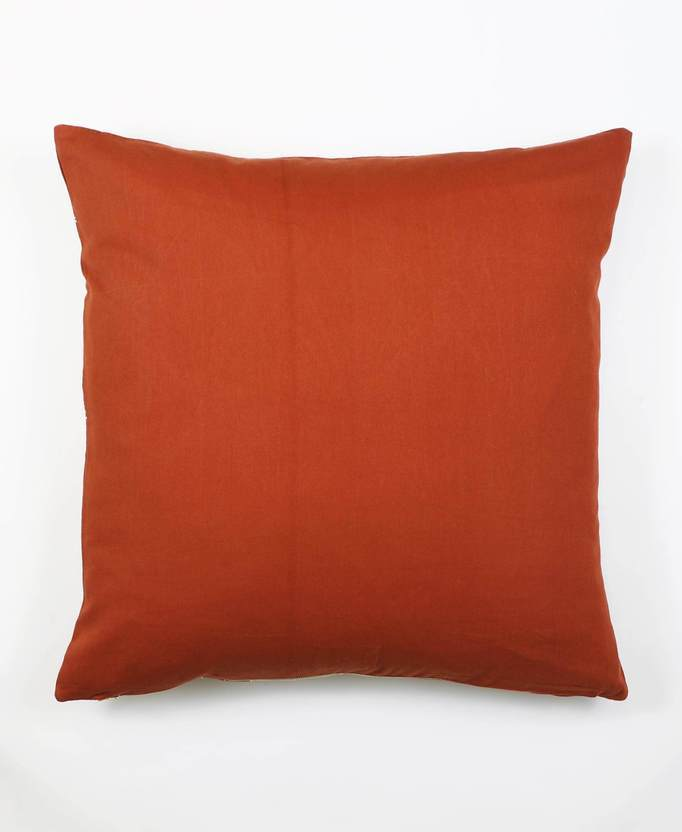 Anchal Project Prism Throw Pillow - Rust Anchal Project