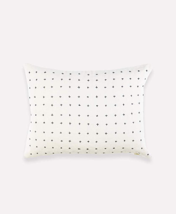 Anchal Project Small Cross Stitch Toss Pillow Anchal Project