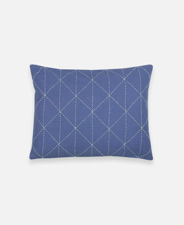 Anchal Project Small Graph Throw Pillow - Slate Made Trade