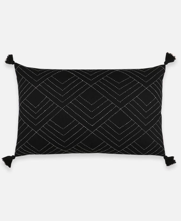 Anchal Project Tilt Lumbar Pillow - Charcoal Anchal Project