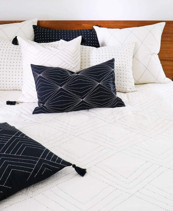Anchal Project Tilt Quilt Bedding Made Trade