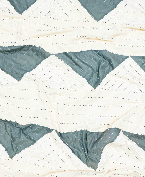 Anchal Project Triangle Quilt Throw Home Goods Anchal Project