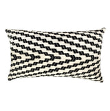 Archive New York Almolonga Zig Zag Pillow - Black & White Archive New York-13135255470143