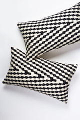 Archive New York Almolonga Zig Zag Pillow - Black & White Archive New York-13135149432895