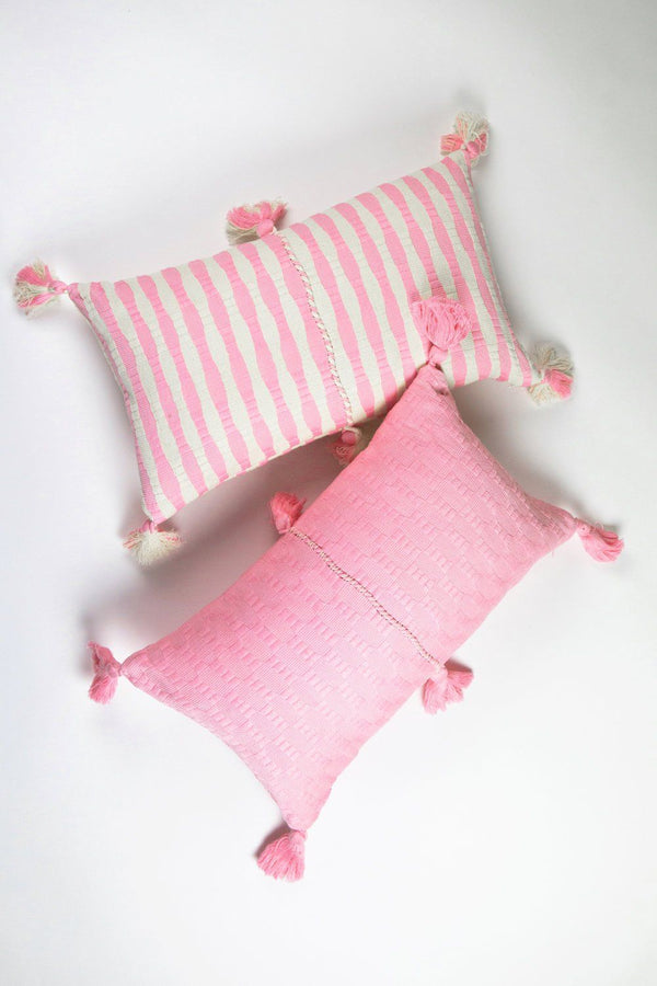 Archive New York Antigua Pillow - Baby Pink Solid Archive New York