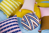 Archive New York Antigua Pillow - Baby Pink Stripe Archive New York-13135215493183