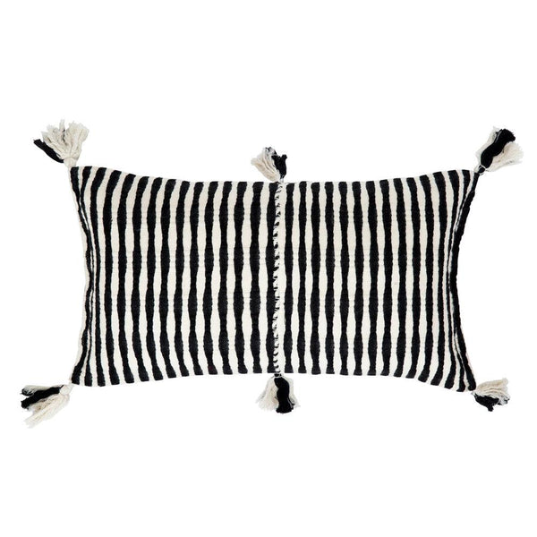 Archive New York Antigua Pillow - Black Archive New York