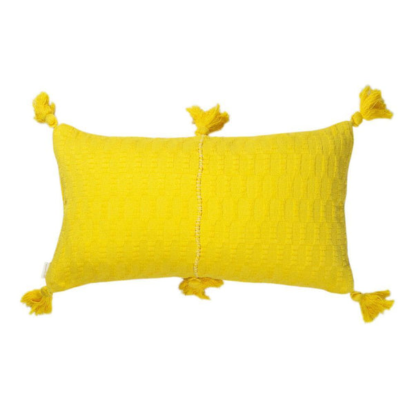 Archive New York Antigua Pillow - Bright Yellow Solid Archive New York