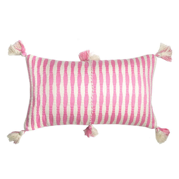 Archive New York Antigua Pillow - Bubblegum Pink Striped Archive New York