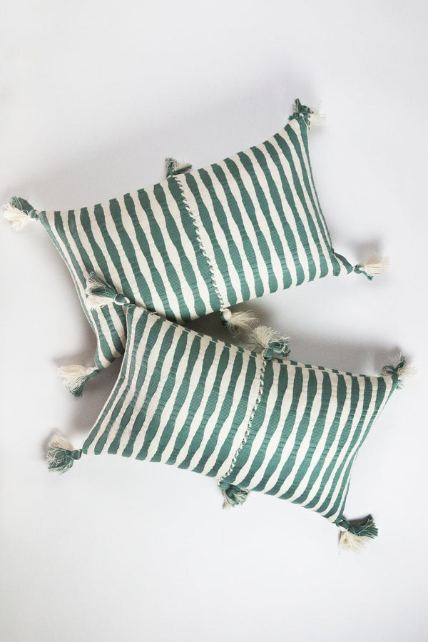 Archive New York Antigua Pillow - Dusty Green Archive New York