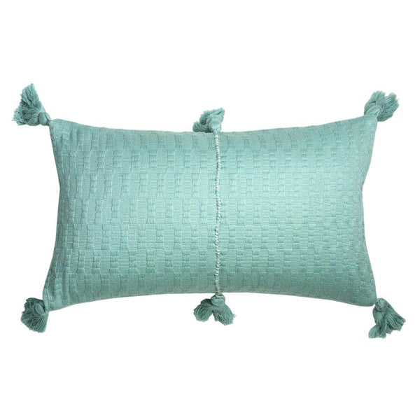 Archive New York Antigua Pillow - Faded Aqua Solid Archive New York
