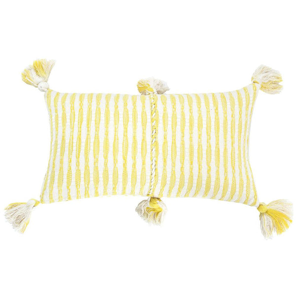 Archive New York Antigua Pillow - Faded Yellow Stripe Archive New York
