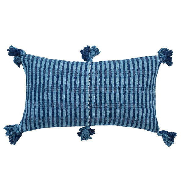 Archive New York Antigua Pillow - Natural Indigo Archive New York