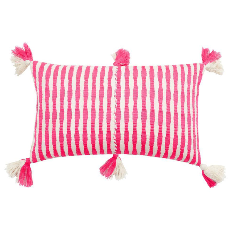Archive New York Antigua Pillow - Neon Pink Archive New York