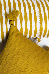 Archive New York Antigua Pillow - Ochre Solid Archive New York-13135093891135