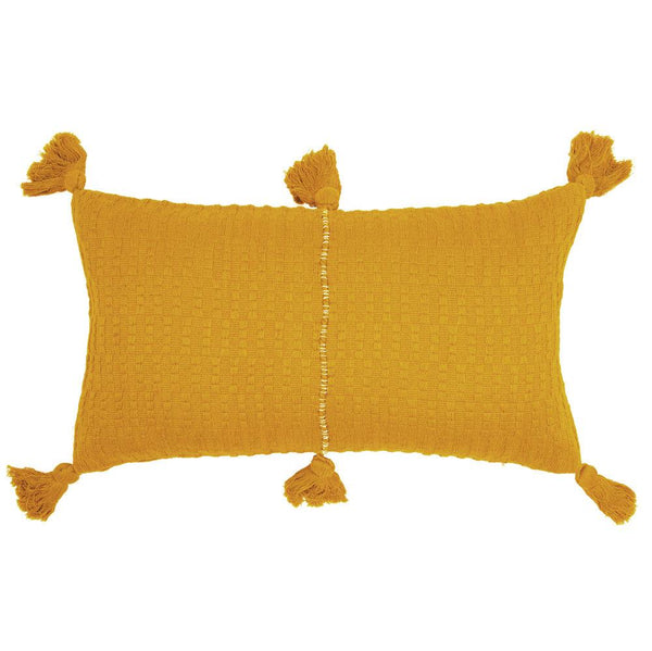 Archive New York Antigua Pillow - Ochre Solid Archive New York