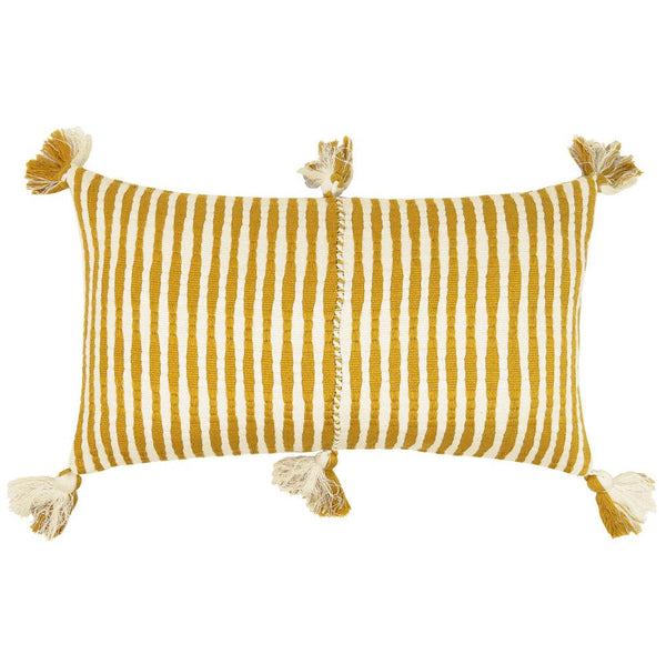 Archive New York Antigua Pillow - Ochre Striped Archive New York