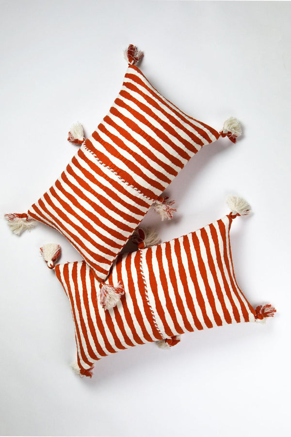 Archive New York Antigua Pillow - Red Archive New York