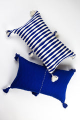 Archive New York Antigua Pillow - Royal Blue Solid Archive New York-13135162343487