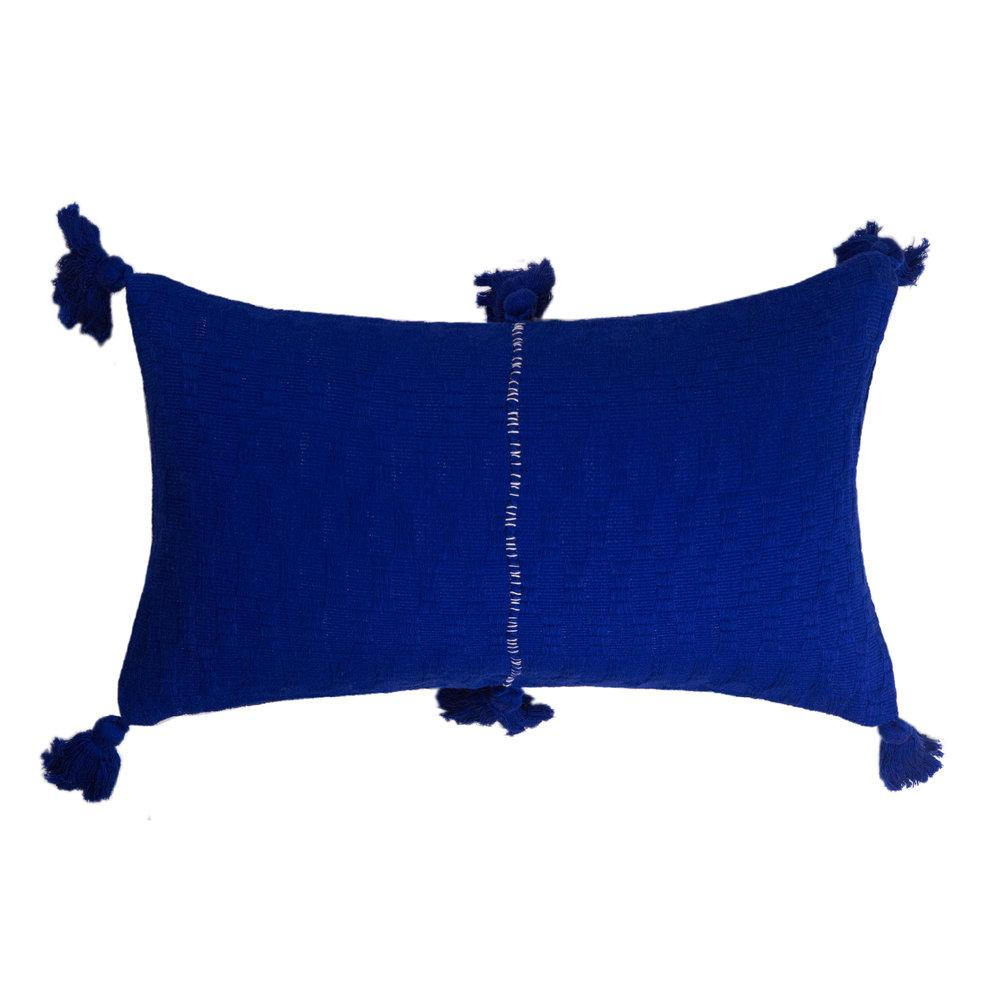 Archive New York Antigua Pillow - Royal Blue Solid Archive New York