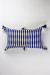 Archive New York Antigua Pillow - Royal Blue Stripe Archive New York-13135225028671