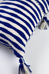Archive New York Antigua Pillow - Royal Blue Stripe Archive New York-13135095693375
