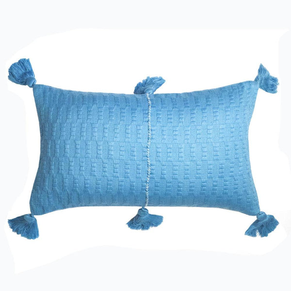 Archive New York Antigua Pillow - Sky Blue Solid Archive New York