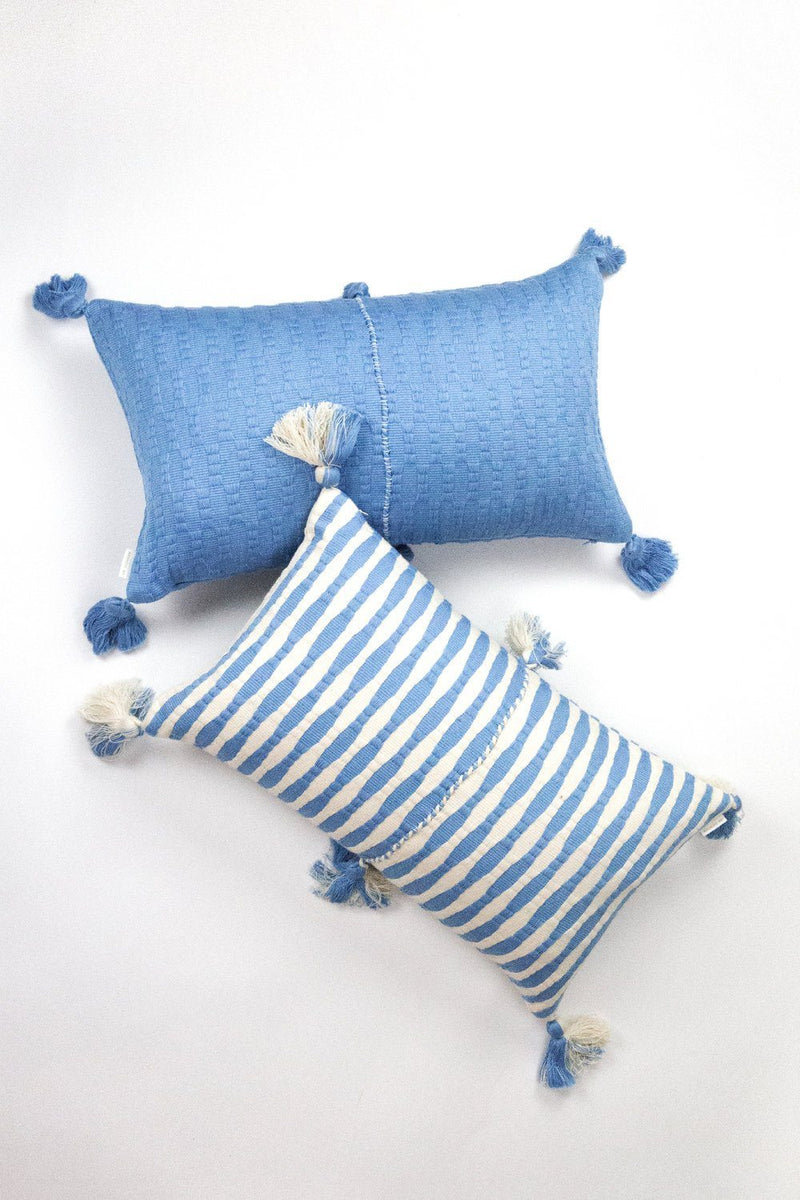 Archive New York Antigua Pillow - Sky Blue Striped Archive New York