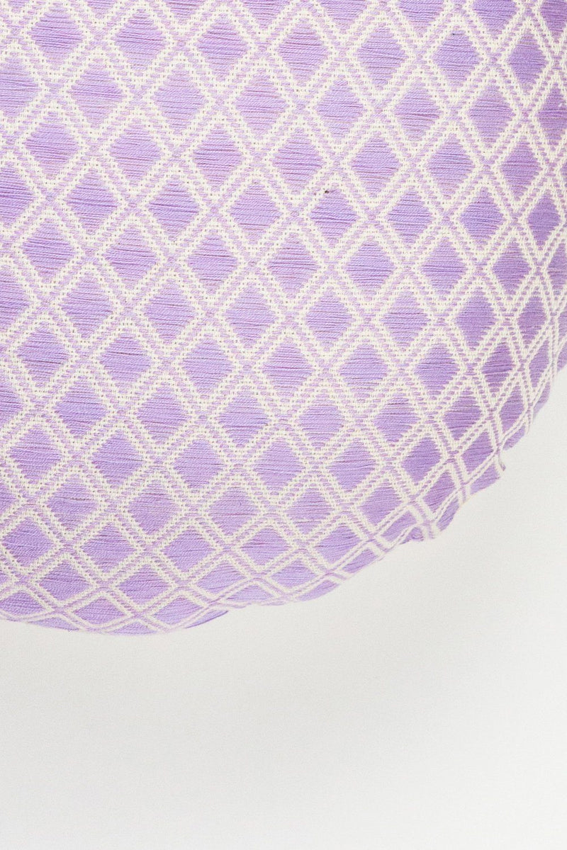 Archive New York Comalapa Circle Pillow - Lilac Archive New York