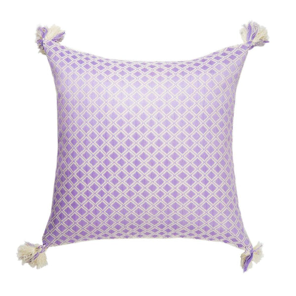 Archive New York Comalapa Square Pillow - Lilac Archive New York