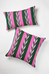 "Archive New York Palm Ikat Pillow - 12""x 20"" Archive New York -13135238627391"